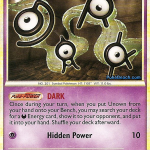 Unown DARK